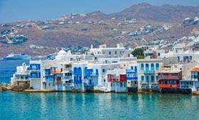 Griekenland reizen Mykonos