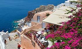 Griekenland reizen Santorini