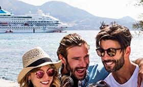 Combi Citytrip Athene en Cruise