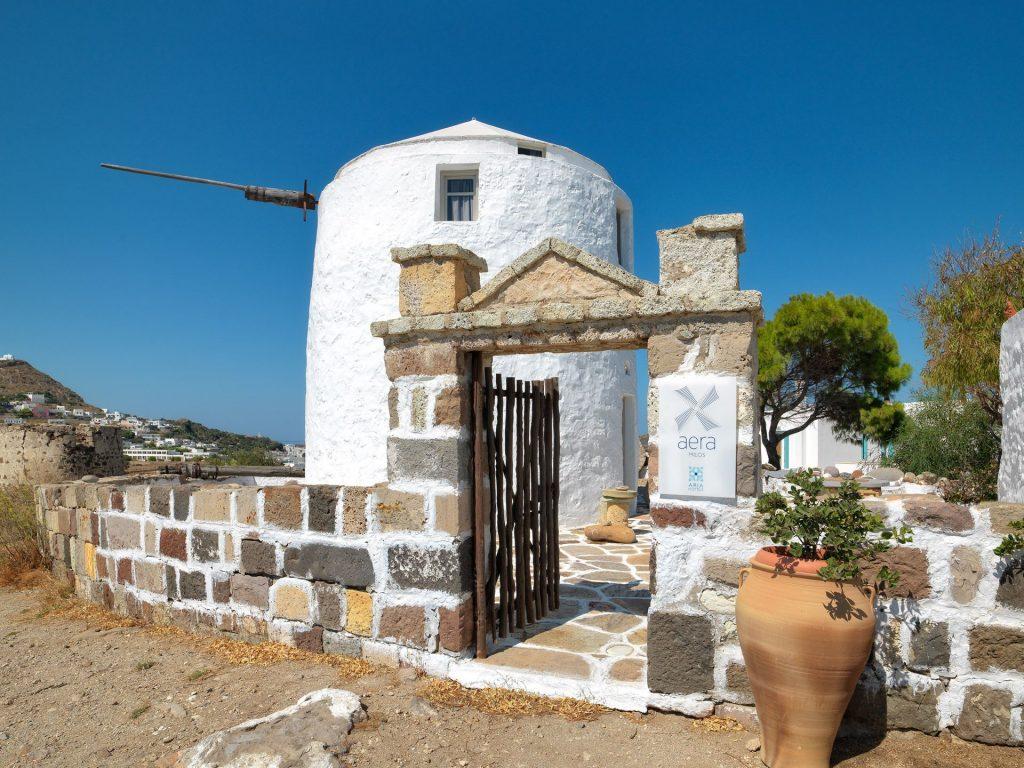 Aera Windmills Milos