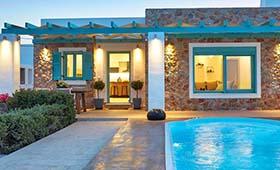 Almyriki Beach Villa Santorini