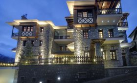 Aroma Dryos Eco Hotel (incl. auto)