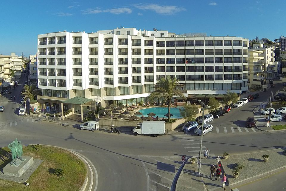 Blue Sky City Beach Rhodos