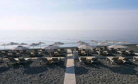 Coriva Beach hotel (incl. auto)
