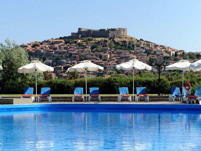 Delfinia Hotel Bungalows Lesbos