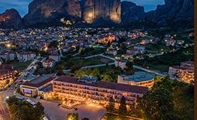 Divani Meteora Hotel (incl. auto)