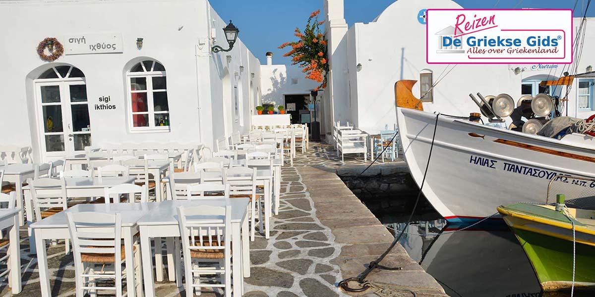 Eilandhoppen Andros Naxos Paros