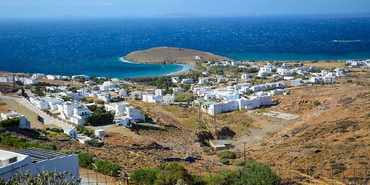 Eilandhoppen Andros Tinos Syros