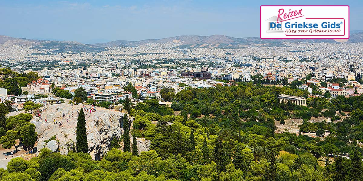Eilandhoppen Athene Paros Santorini