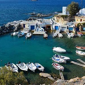 Eilandhoppen Kreta, Milos & Athene