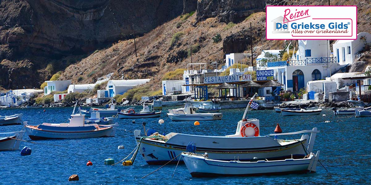 Eilandhoppen Kreta Santorini