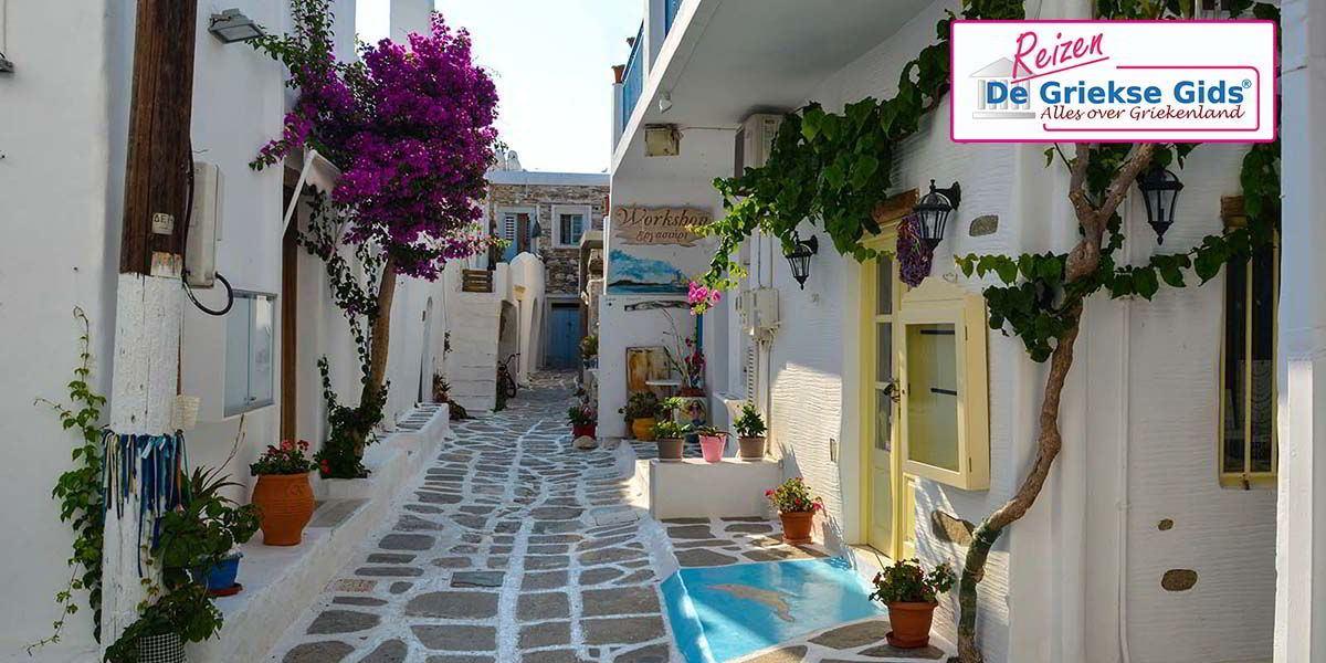 Eilandhoppen Mykonos Naxos Santorini