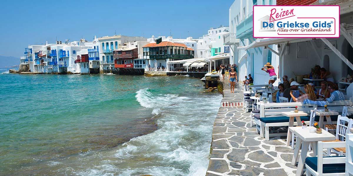 Eilandhoppen Paros Naxos Mykonos