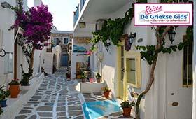 Eilandhoppen Paros, Naxos & Mykonos