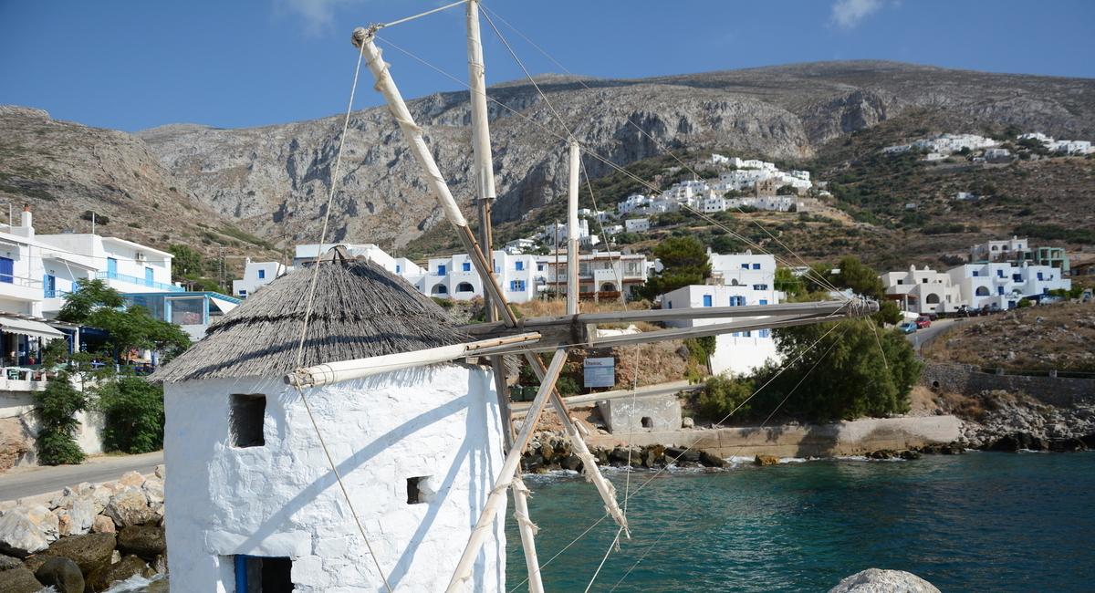 Eilandhoppen Amorgos Santorini