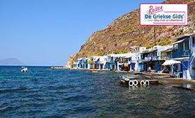 Eilandhoppen Santorini & Milos