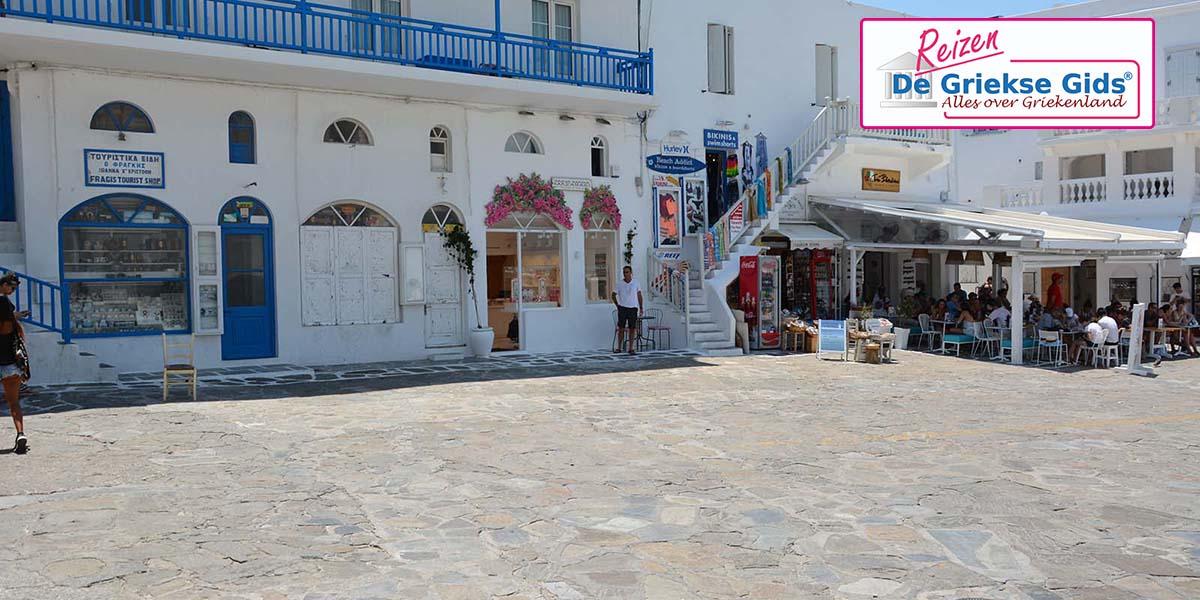 Eilandhoppen 3* Santorini Mykonos