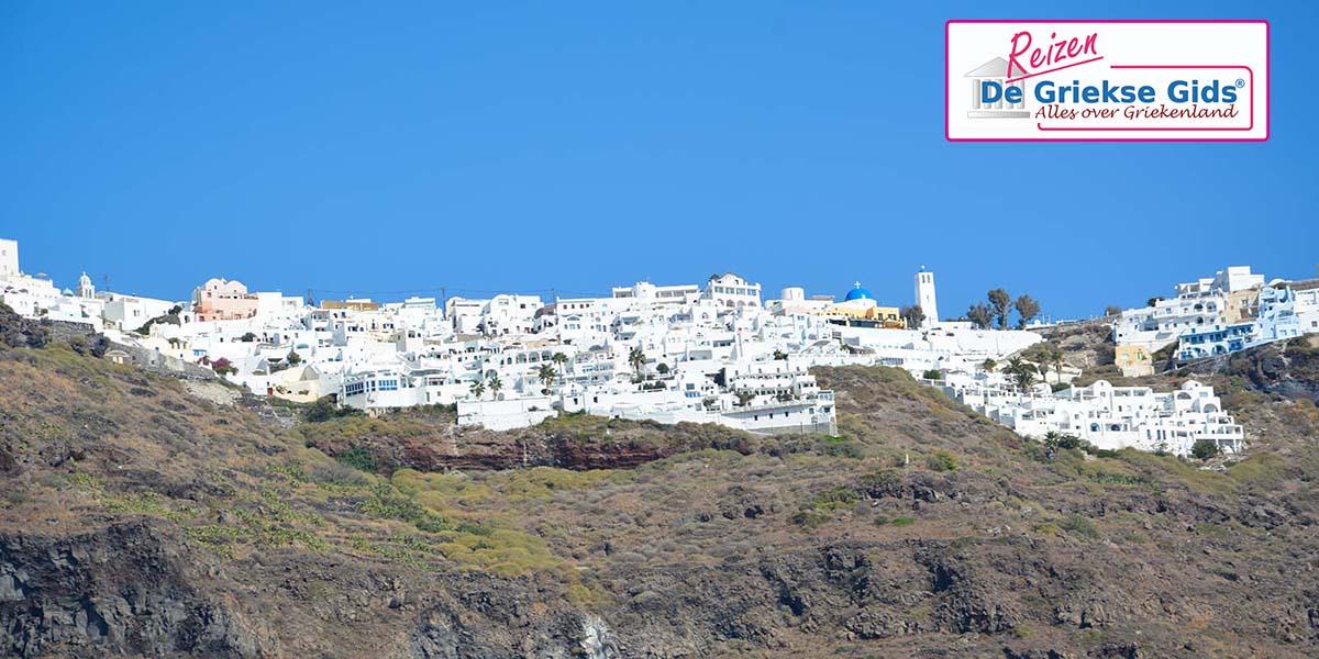 Eilandhoppen Santorini Paros