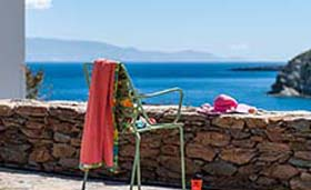 K for Kythnos Sun & Ocean House