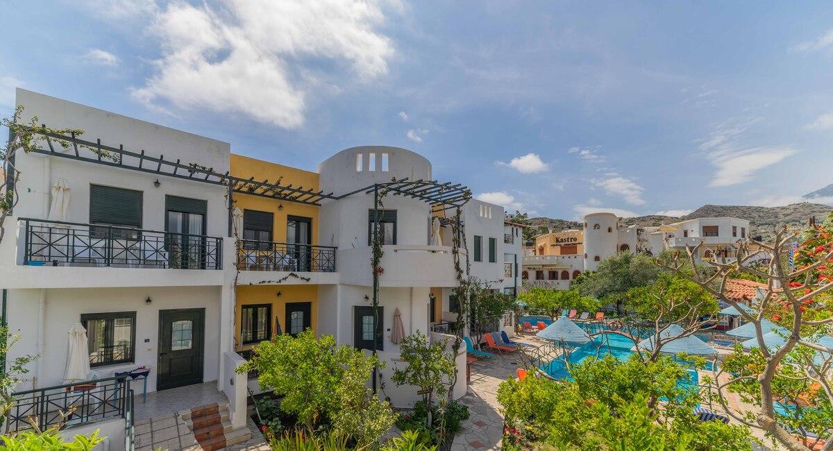 Kastro apartments en studios Myrtos
