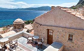 Malvasia Traditional Hotels (incl. auto)