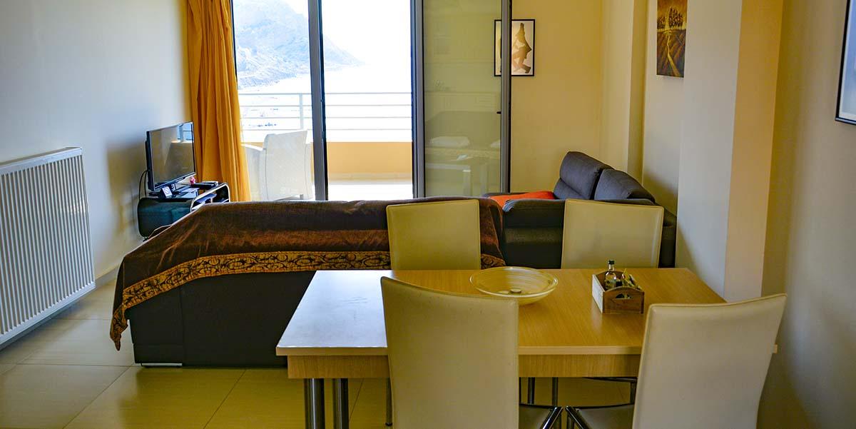 Seaview apartments Agia Galini Kreta