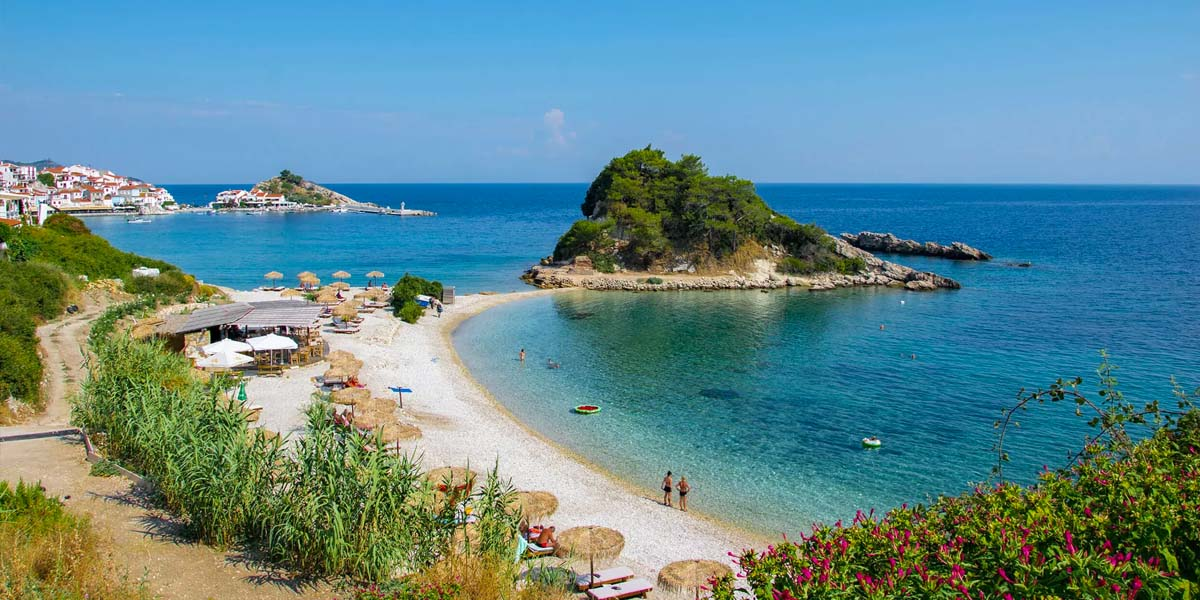 Sunrise Beach Kokkari Samos
