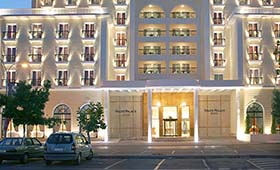 Volos Palace Hotel (incl. auto)