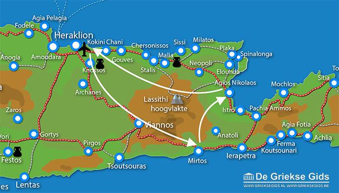 Waar ligt Fly & Drive Agios Nikolaos-Mirtos?
