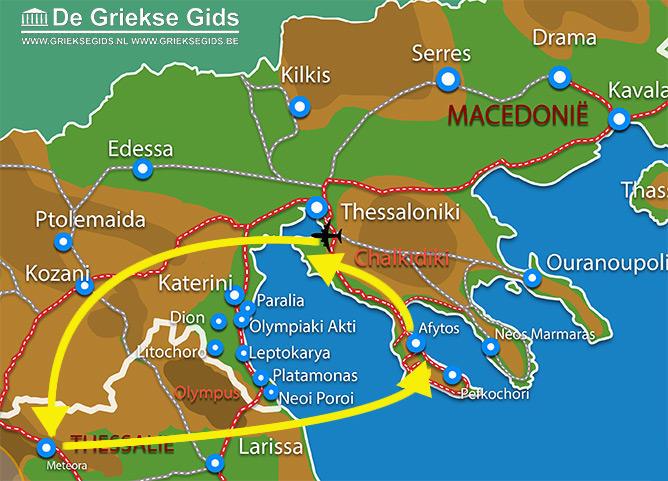 Waar ligt Fly & Drive Meteora - Chalkidiki?
