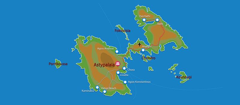 Waar ligt Aegean Sea Villas?