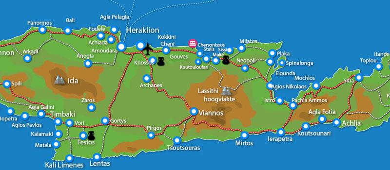 Waar ligt Aldemar Cretan Village?