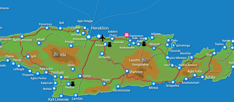 Waar ligt Aldemar Knossos Villas (incl. auto)?