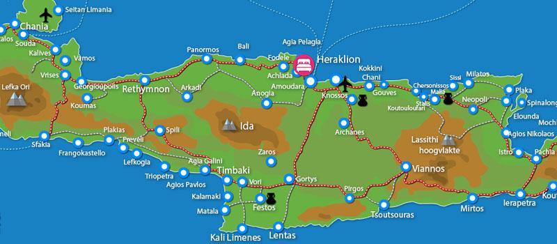 Waar ligt Arolithos Village (incl. auto)?