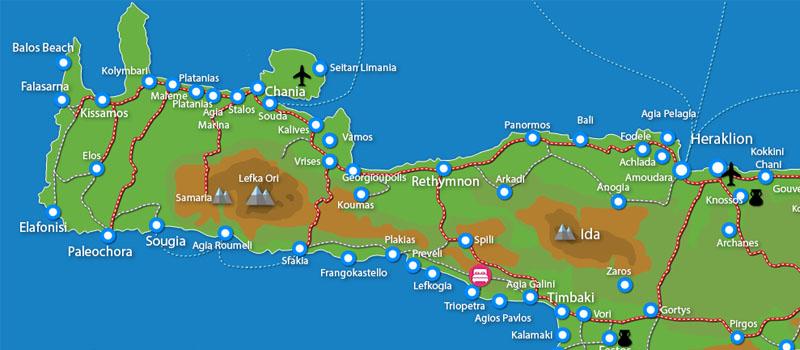 Waar ligt Triopetra Villas Panagia (incl. auto)?