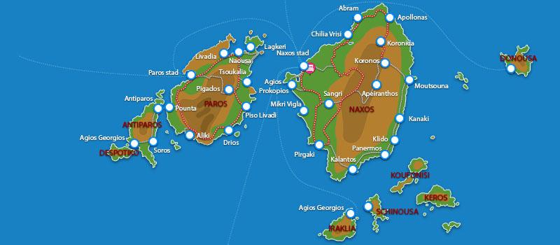Waar ligt Porto Naxos Hotel?