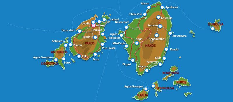 Waar ligt Blue Mare Villas?