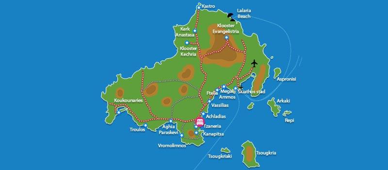 Waar ligt Cape Kanapitsa Hotel Suites - Skiathos?