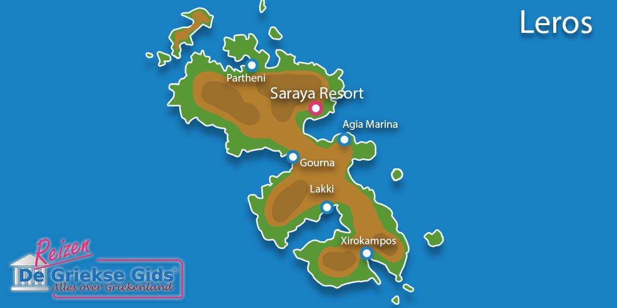 Waar ligt Saraya Resort?